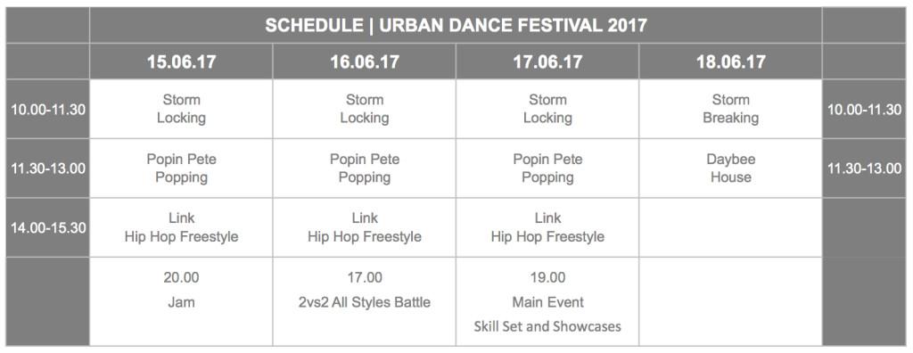 UDF2017_Schedule